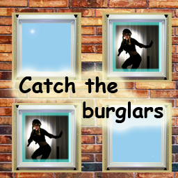 Spot the burglars